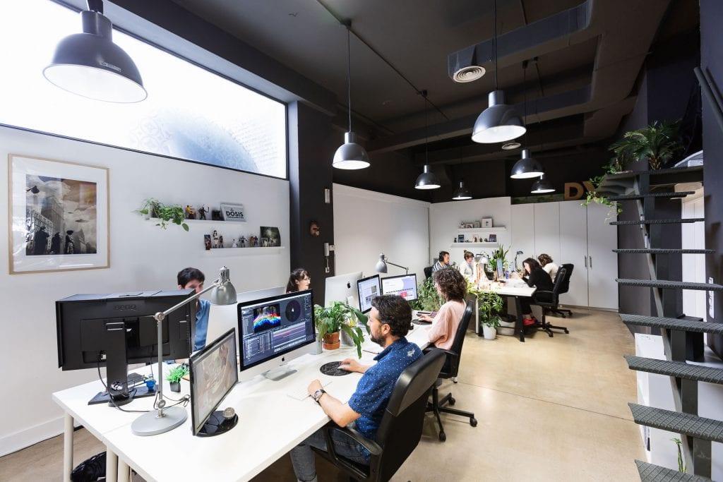 Equipo productora audiovisual