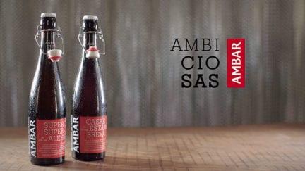 tipo de video explicativo cervezas ambiciosas Ambar