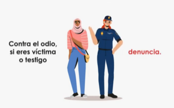 Video animado. Campaña difusión DI NO AL ODIO